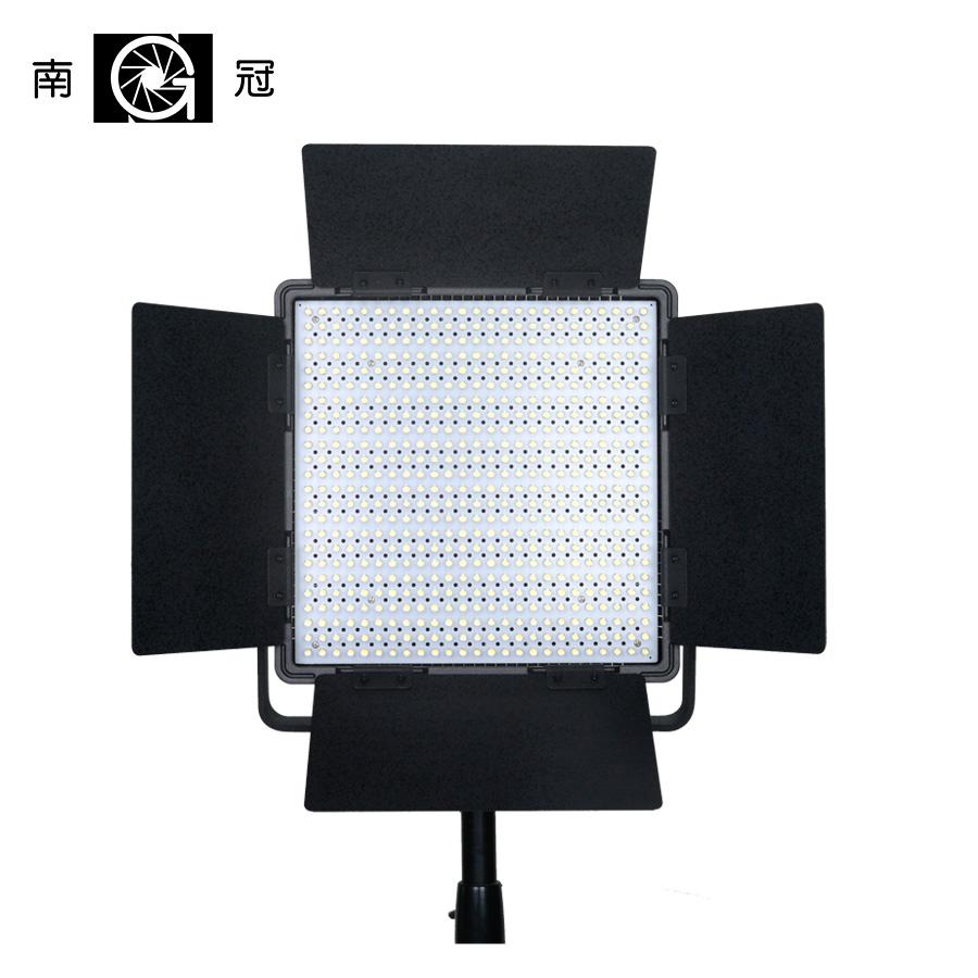 Nanguang Cn 600sa Led Studio Panel Light With Barndoors And V Mount